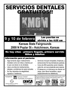 KMOM Hutchinson 2018 Flyer (Spanish)
