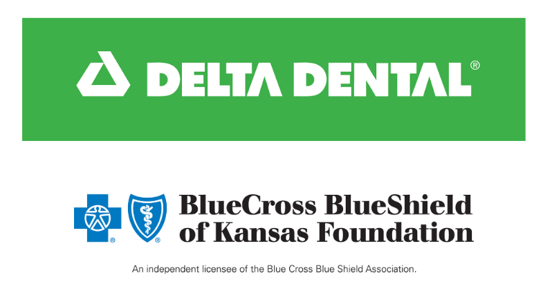 Delta Dental and BCBSKS Logos